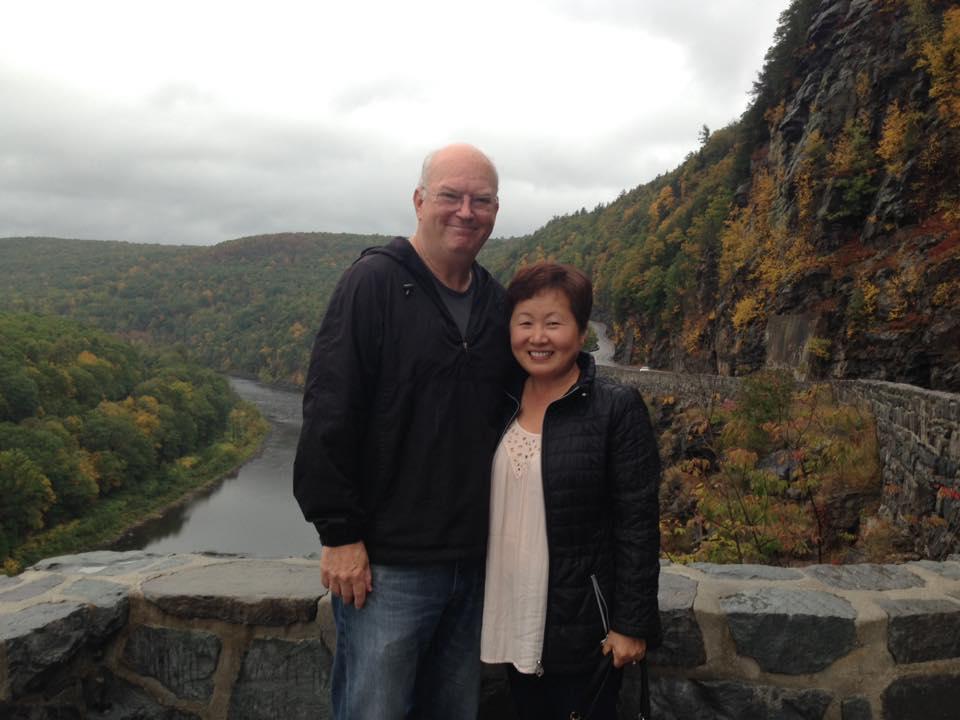 Pastor John with wife Han
