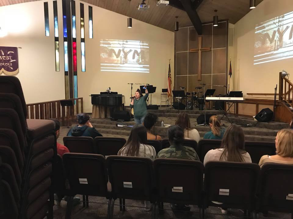youth group Tuesday night service